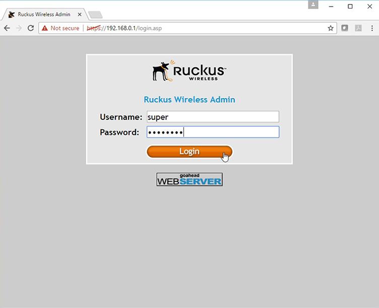 Ruckus R500 setup3