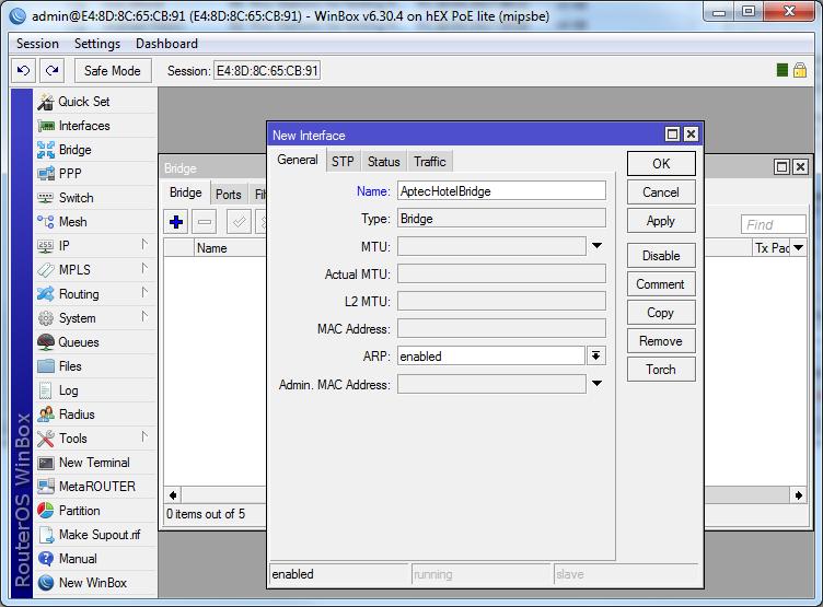 Mikrotik Manual Setup6